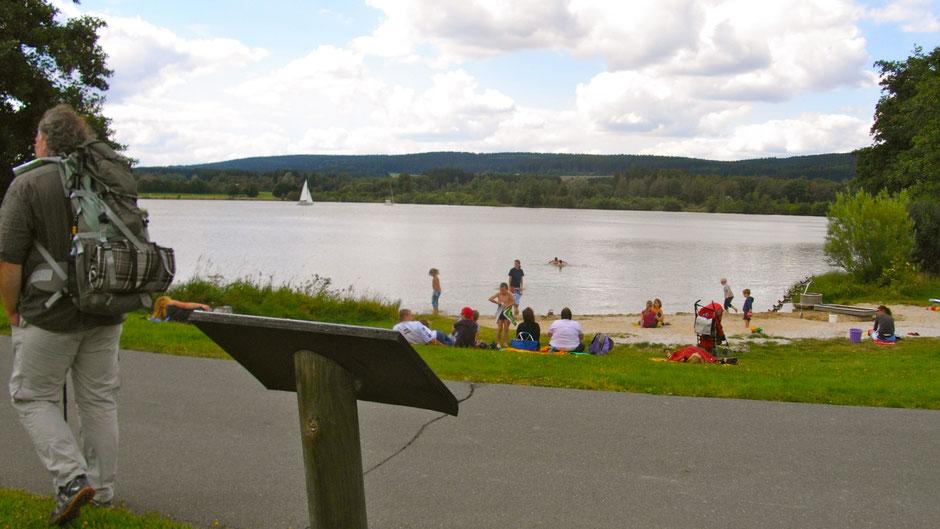Nichtschwimmer-Badestrand am Weißenstädter See