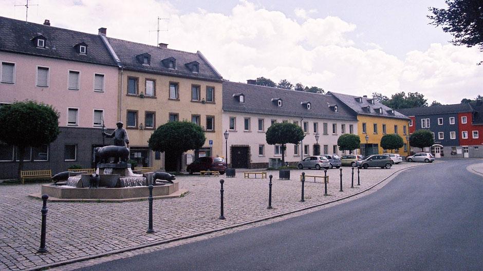 Der »Seitreiberbrunnen« in Oberkotzau
