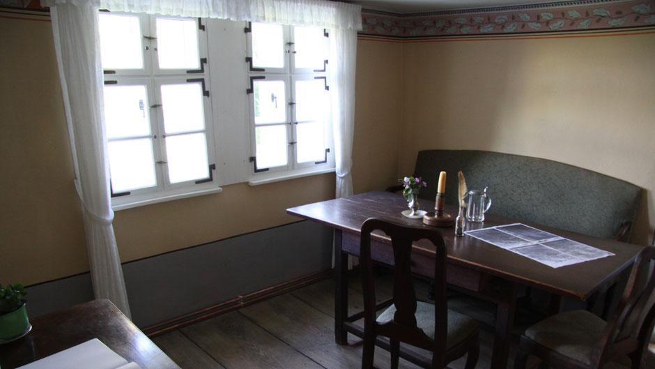 Original Jean-Paul-Dichterstube in der ehemaligen Rollwenzelei