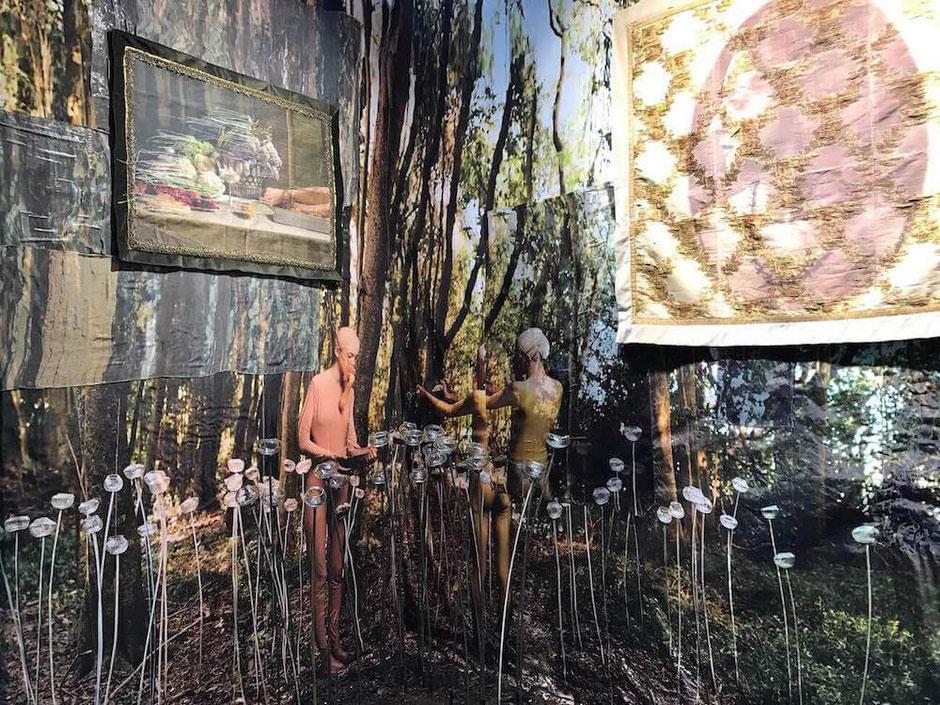 Oeuvre artiste argentine Nicola Constantino Art Paris Art Fair
