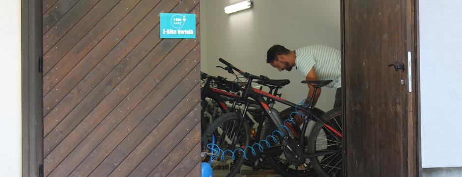 E-Bike Vermietung Harz Thale