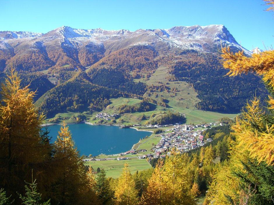 Urlaub in Reschen am Reschenpass im Vinschgau ist gesund und erlebenswert