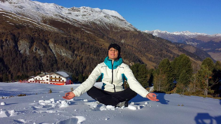 Yoga Urlaub im Hotel Reschnerhof in Südtirol - Vinschgau - Reschen: Rückzugsort für mehr Klarheit im Geist