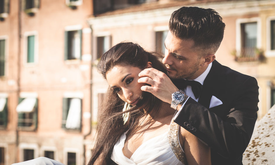 wedding in venice italy shooting