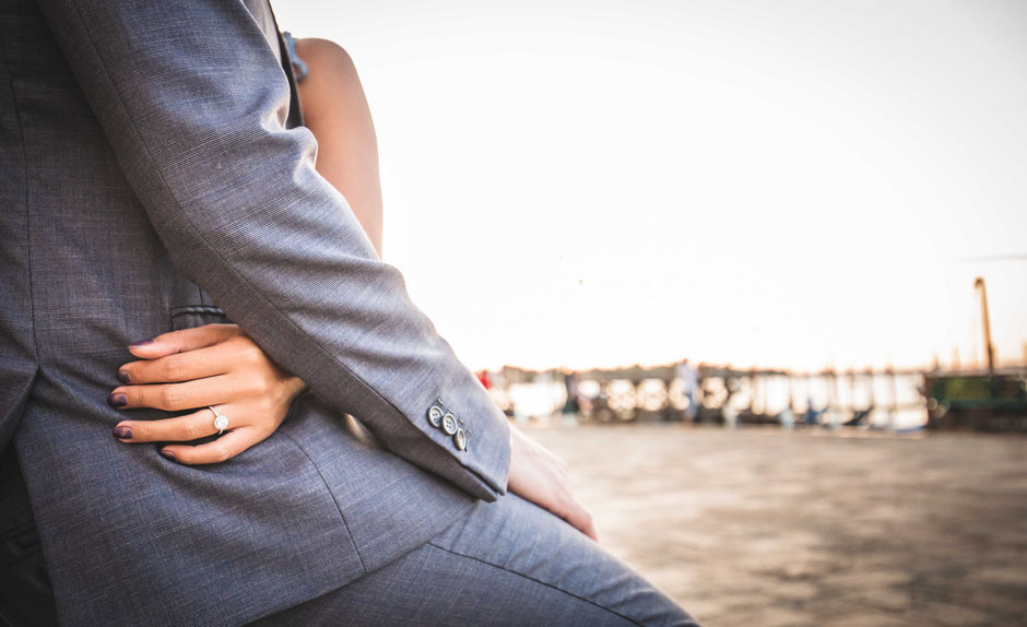 Venice Engagement Couple photoshoot