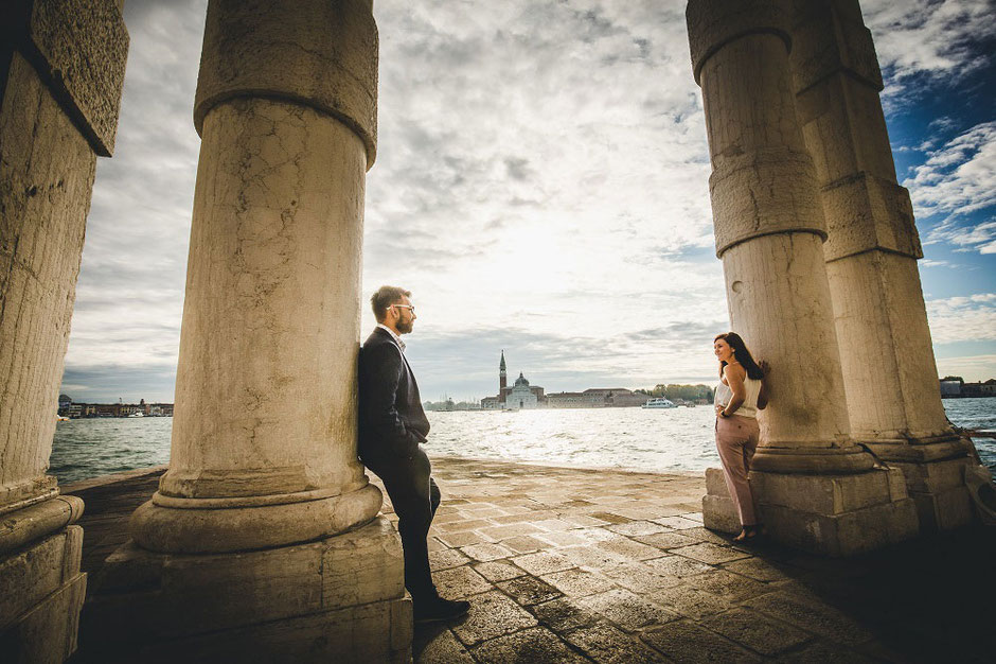 prewedding shooting venezia