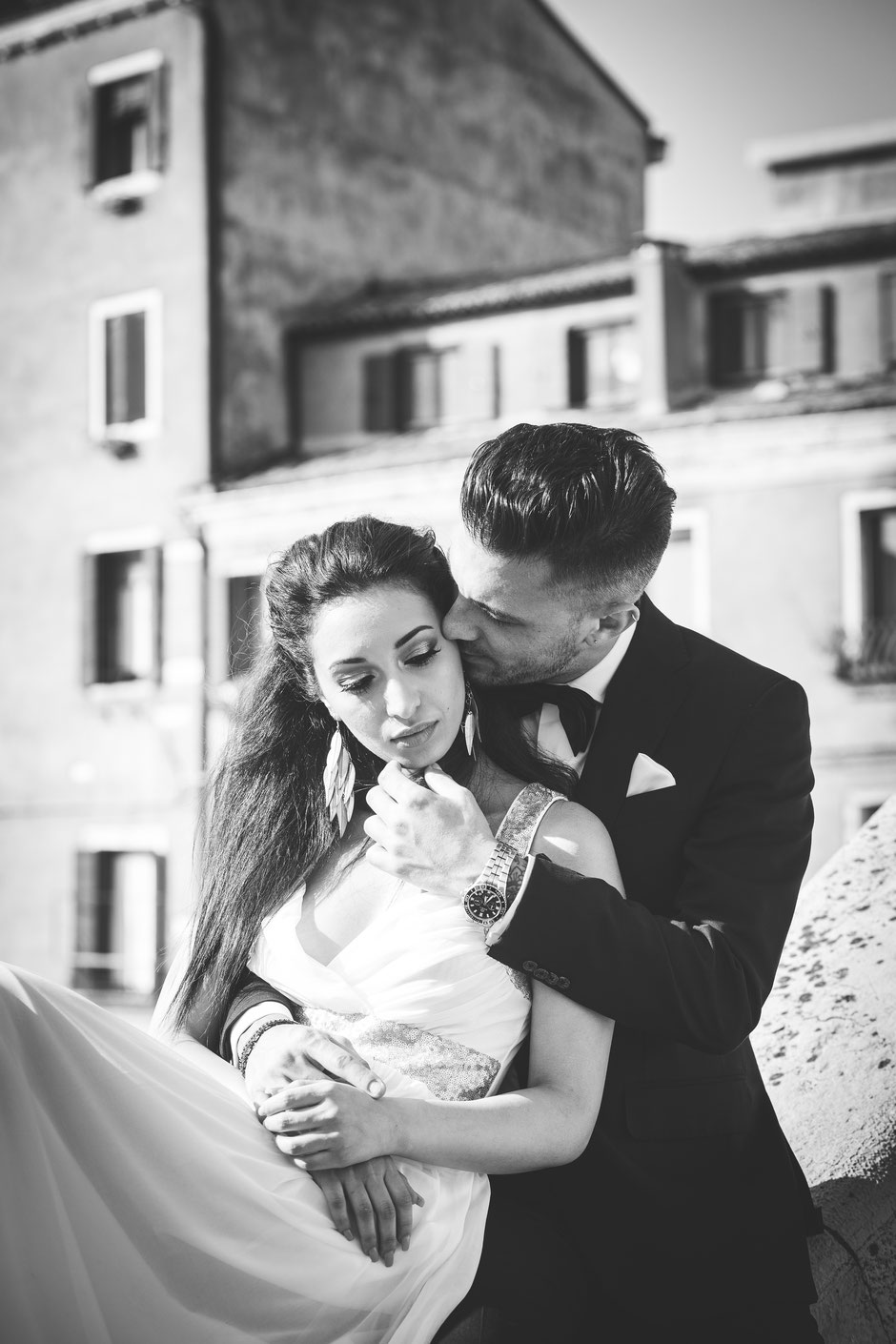 wedding in venice photoshoot