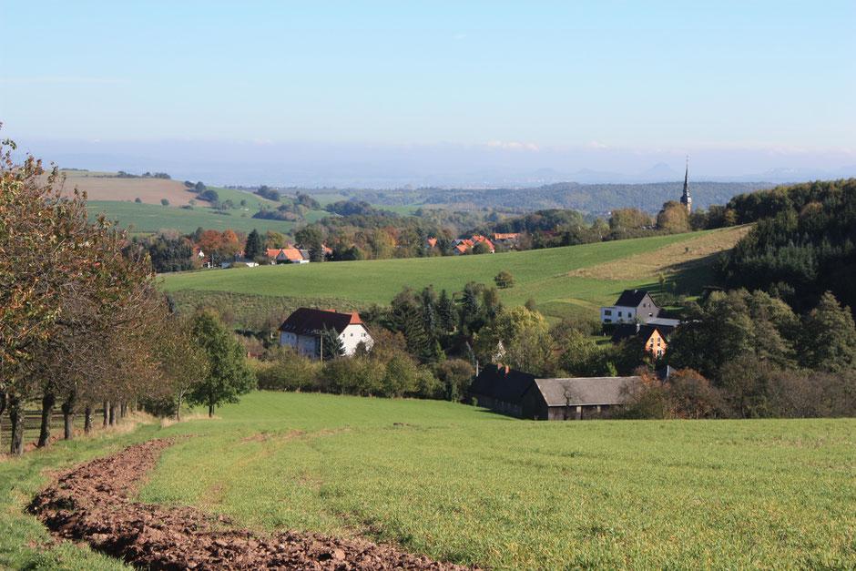 vom Lerchenberg nach Possendorf