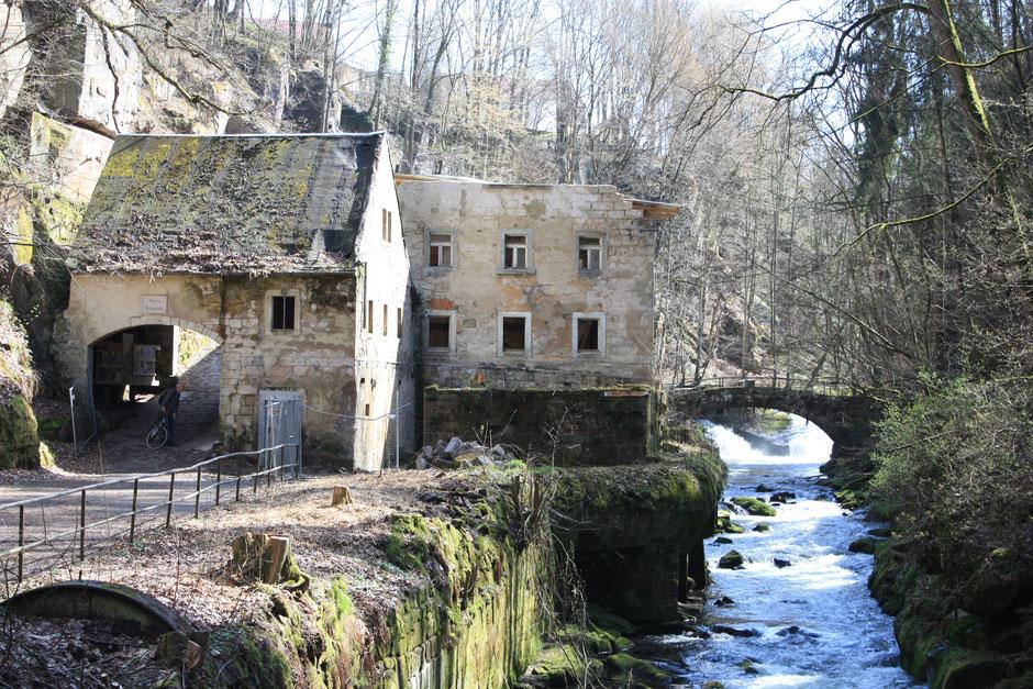 Lochmühle im Liebethaler Grund
