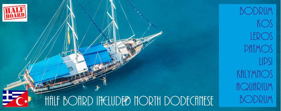 BODRUM - NORTH DODECANESE - BODRUM - Yacht Charter Holidays Worldwide