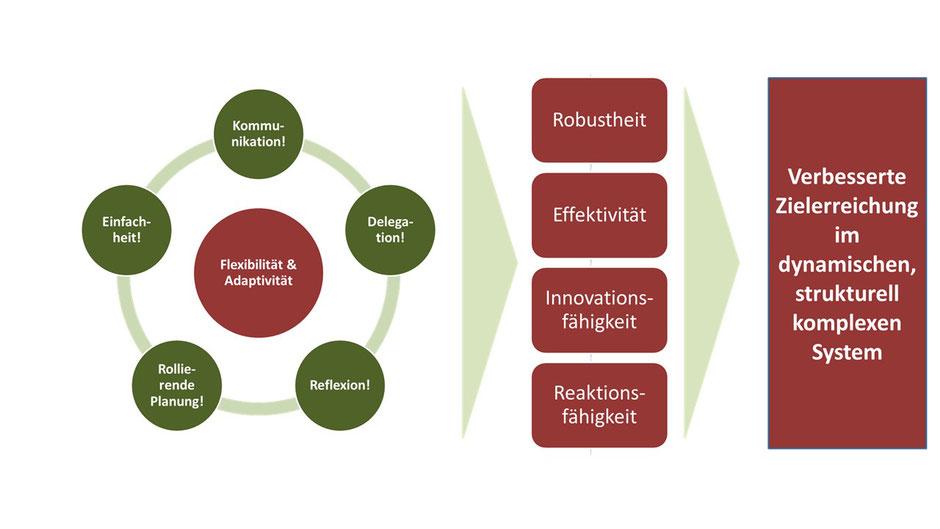 Abbildung 3: Agilität – Paradigmen, Prinzipien und Ziele