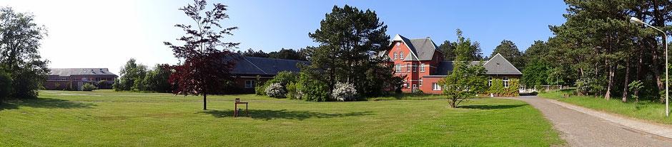 Das Mathilde Emden Haus auf dem Gelände von dem Helios Seehospital in Cuxhaven Sahlenburg