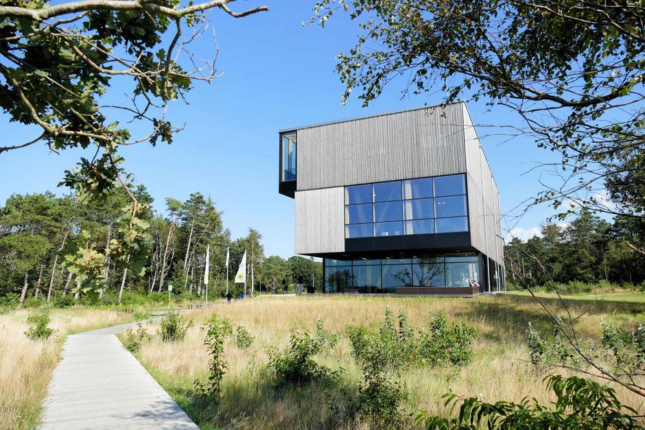 Wattenmeer Besucherzentrum in Sahlenburg. Ausstellung über den Nationalpark Wattenmeer.