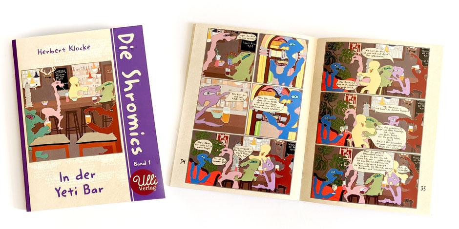 "Comic Heft ""Die Shromics Band 1"" Herbert Klocke, Ulrike Spang, erschienen im Ulli Verlag"