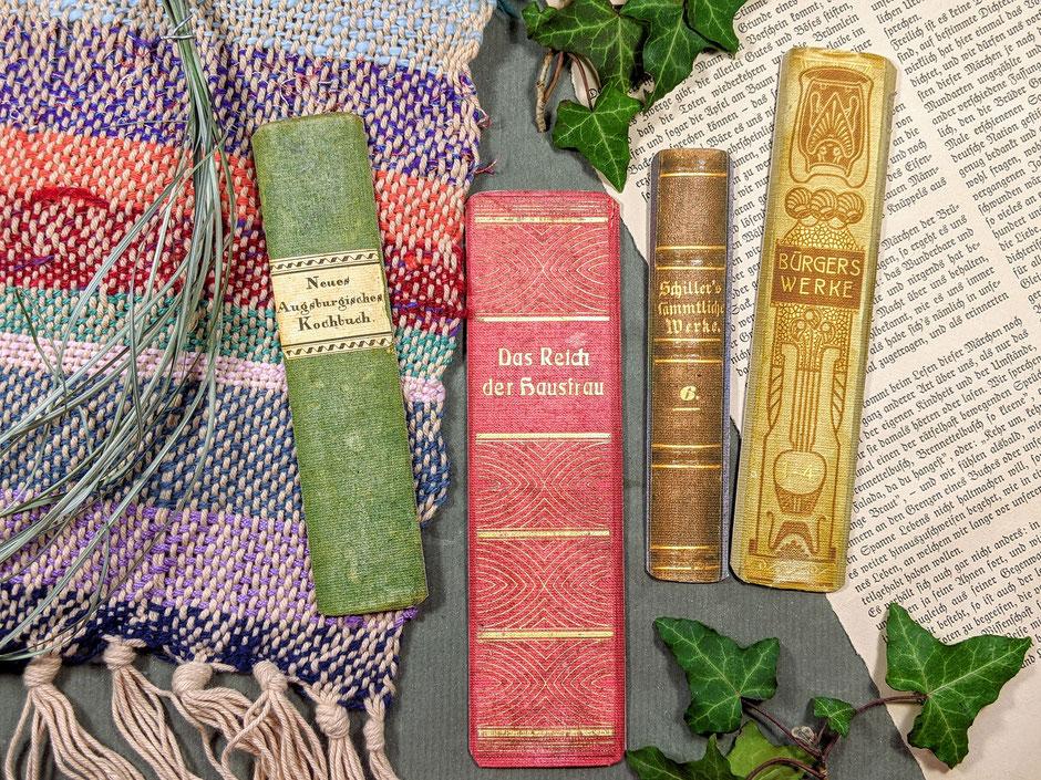 lesezeichen vintage Buchrücken - Ulli Verlag