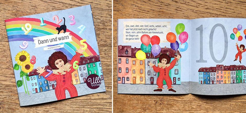Bilderbuch Kinderbuch Zahlen zählen lernen