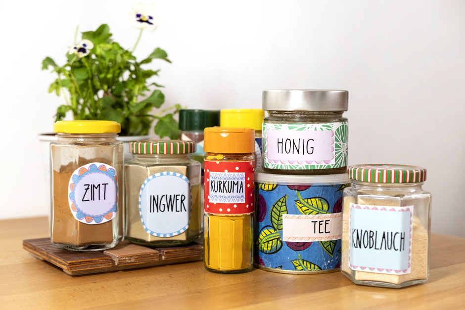 Freebies - Etiketten zum Sebstbeschriften - Ulli Verlag