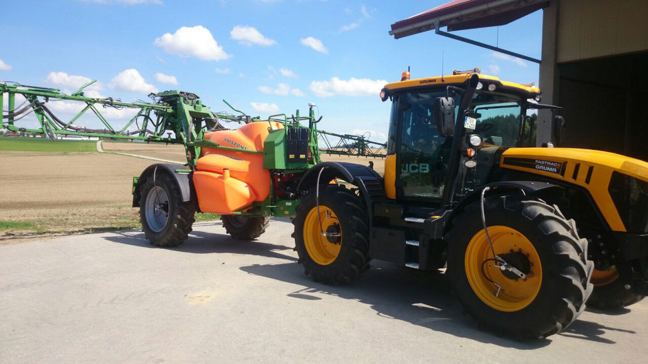 TERRA CARE Reifendruckregelanlage Traktor Anhänger Detailaufnahme