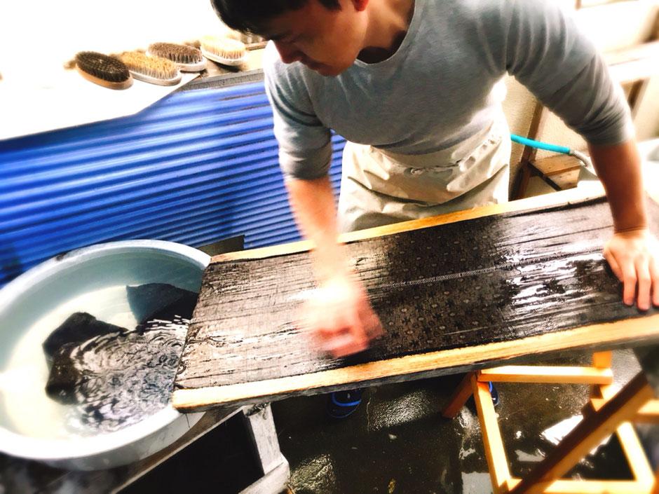 洗い張り 着物クリーニング 洗い張りとは 着物お手入れ 湯のし  横須賀市