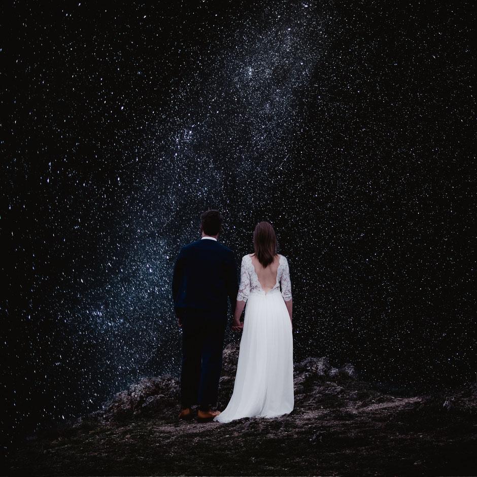 ROVA FineArt Wedding photografphy - hochzeitsfotografie Forchheim - fränkische schweiz - walberla - franconia - conceptual - night - stars - astro