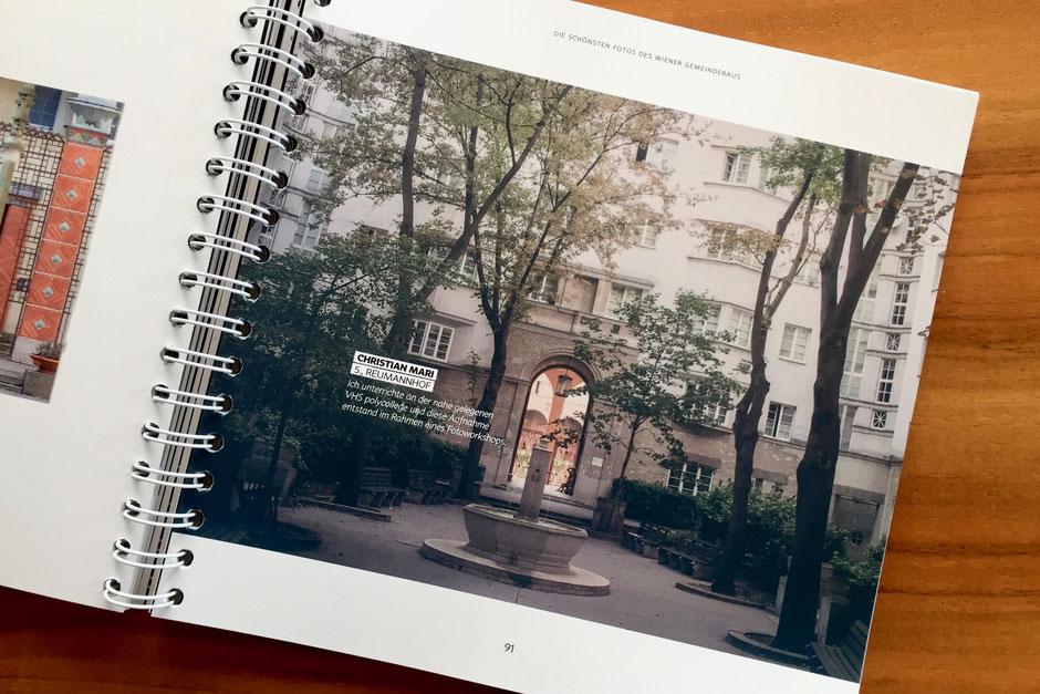 Mein Beitrag im Buch zum Fotowettbewerb So schön ist Wien