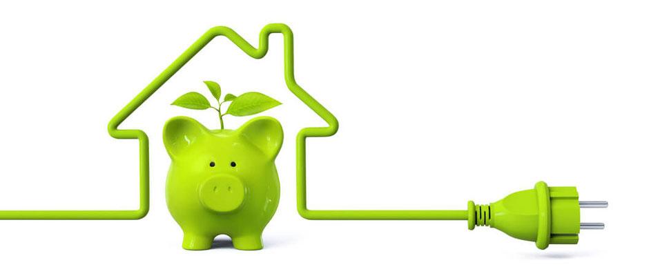 Energiesparen durch Strom