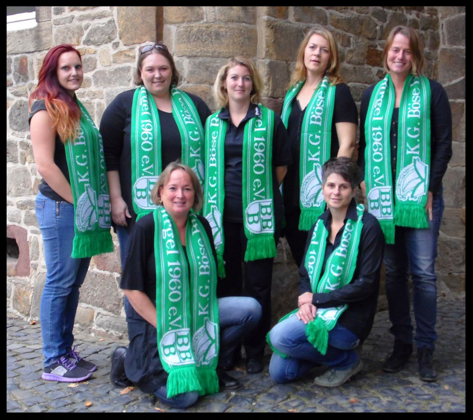 Trainer- & Betreuerteam 2015