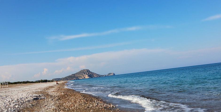 Der Afandou Strand