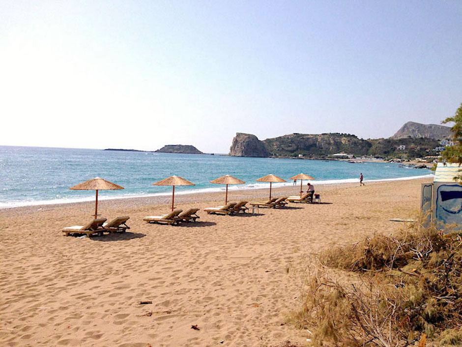 Stegna Beach auf Rhodos