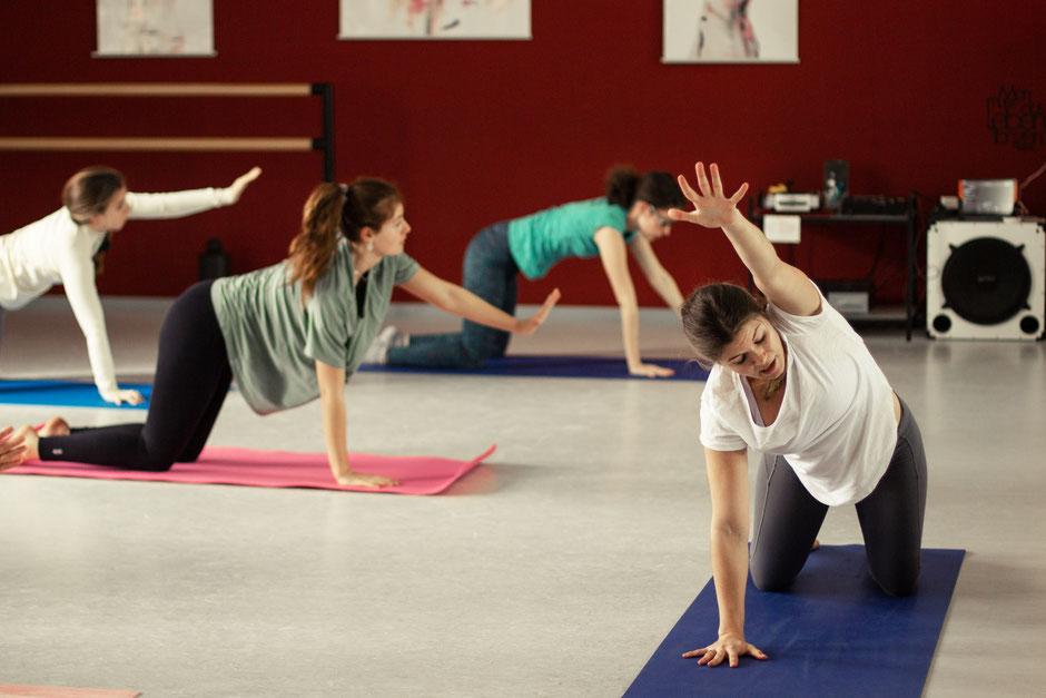 Yoga Warm-up mit Daniela