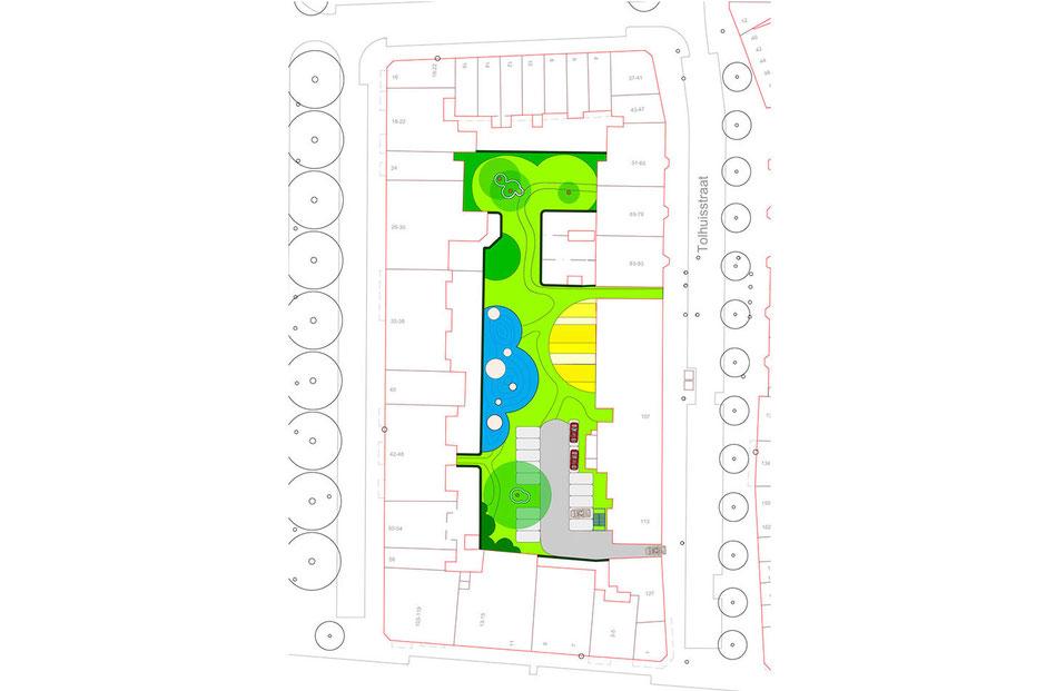 The new design for Communal Inner Square