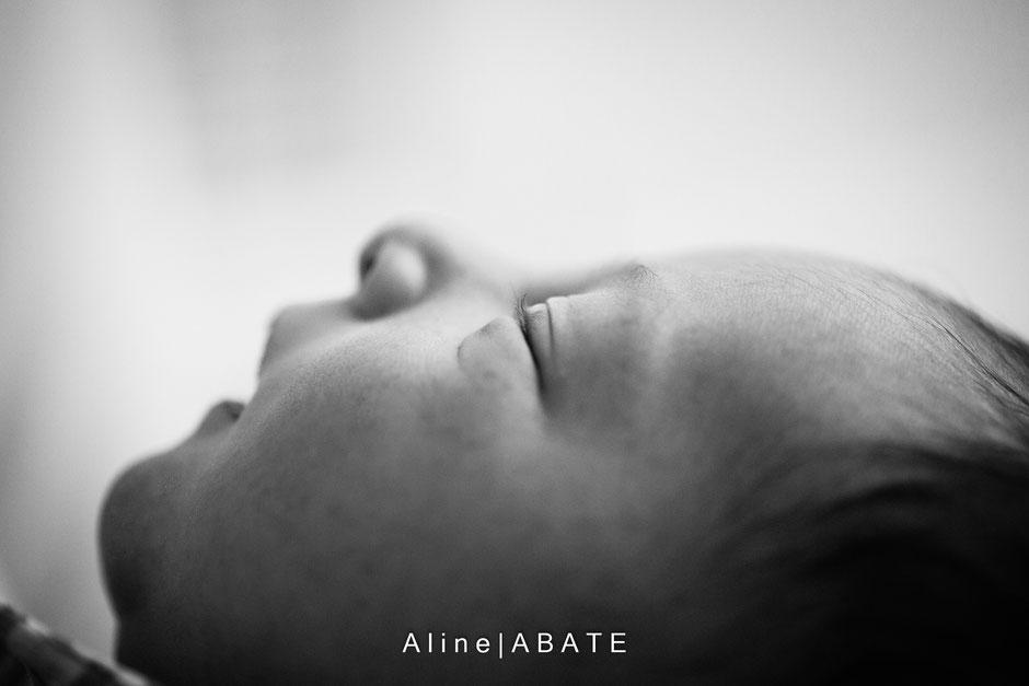 détail du profil d'un nouveau né