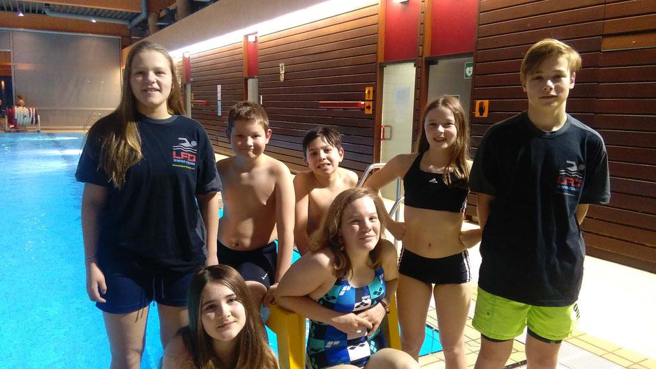 Teilnehmer des Schüler- u. Jugendwettkampfes. Es fehlt Dustin Heilmann. Foto: Ulrich Link
