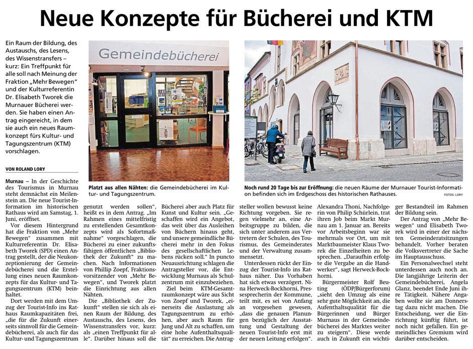 Murnauer Tagblatt am 09.05.2019
