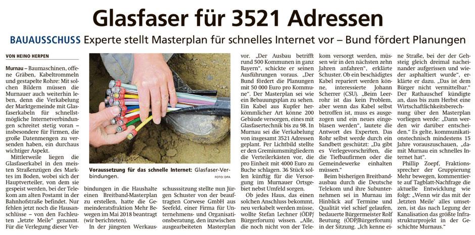Murnauer Tagblatt am 04.08.2019
