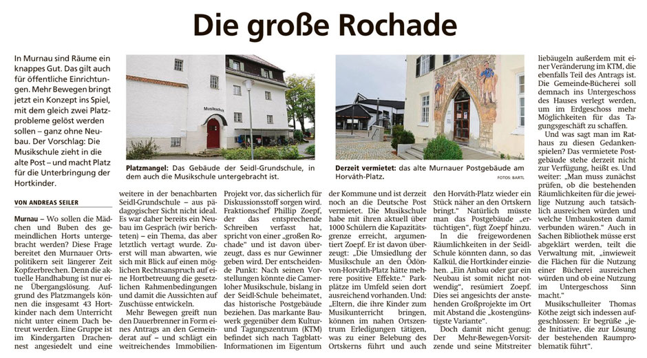 Murnauer Tagblatt am 30.09.2019