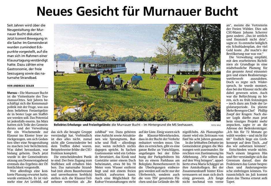 Murnauer Tagblatt am 24.05.2019