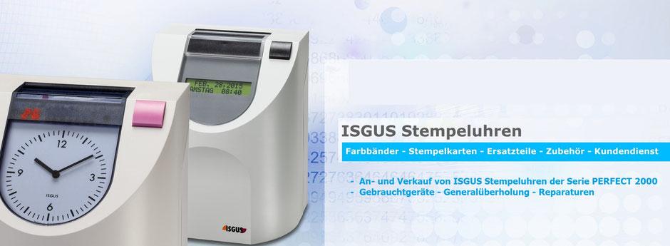 ISGUS Stempeluhren PERFECT - Gebraucht - An- und Verkauf - Reparatur - Generalüberholung