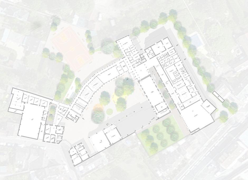 Coll ge lucien cezard atelier s for Architecte fontainebleau