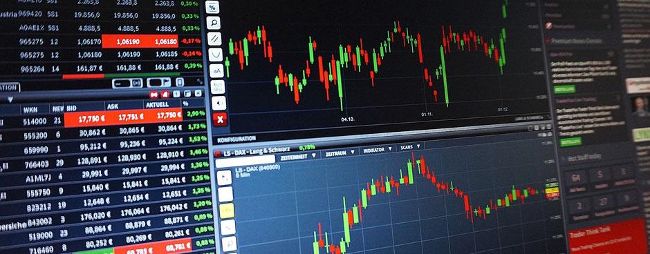 被相続人の所有する株などの有価証券のチャート