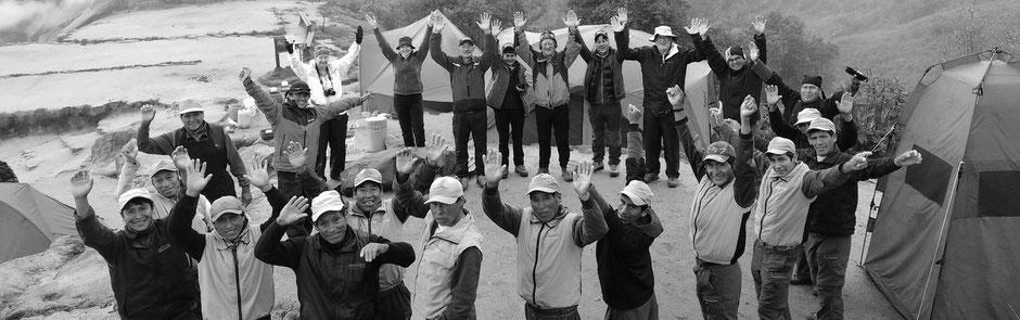 Inka Pfad Gruppe