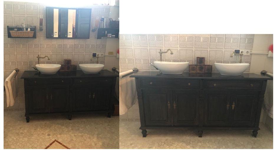 Landhaus Doppel-Waschtisch von Land und Liebe