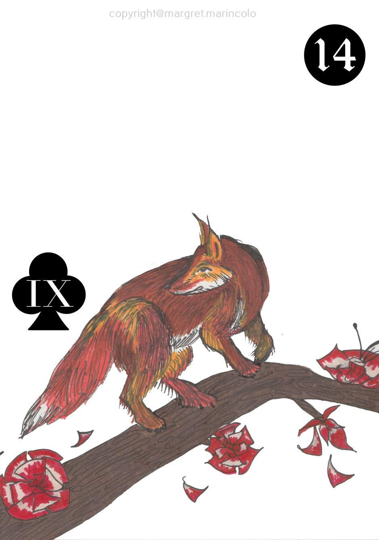 der-fuchs-fox-14-im-lenormand