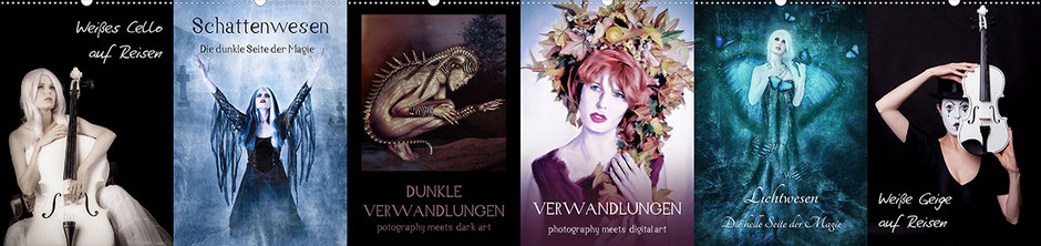 Ravienne Art Model - Kalender-Cover-Fotos - Link zu Kalendergalerien