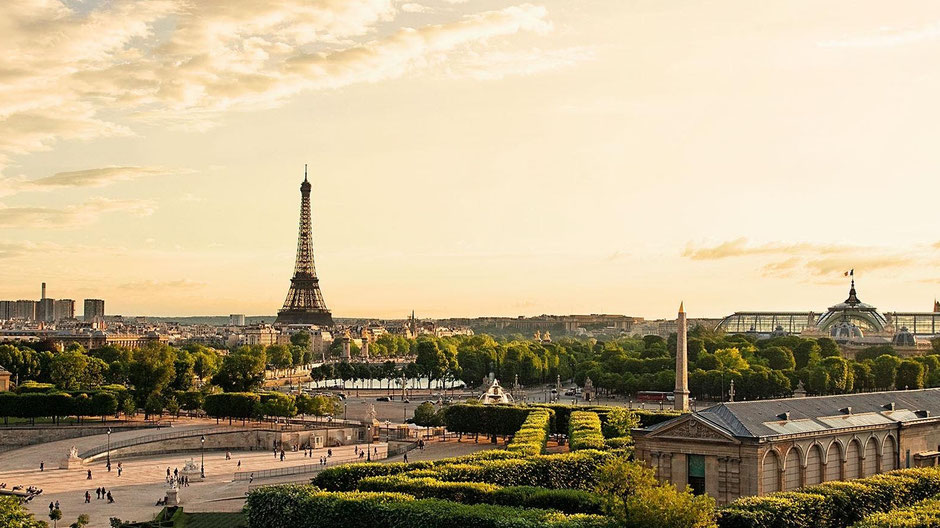 View from Westin Vendome Paris France