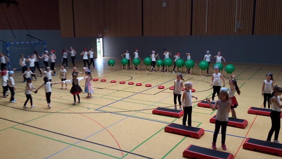 TSV Morsum Tanzgruppen