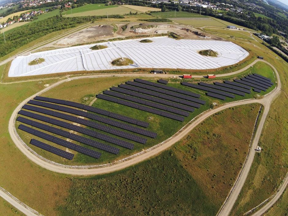 große Photovoltaik-Anlage in Kirchlengern