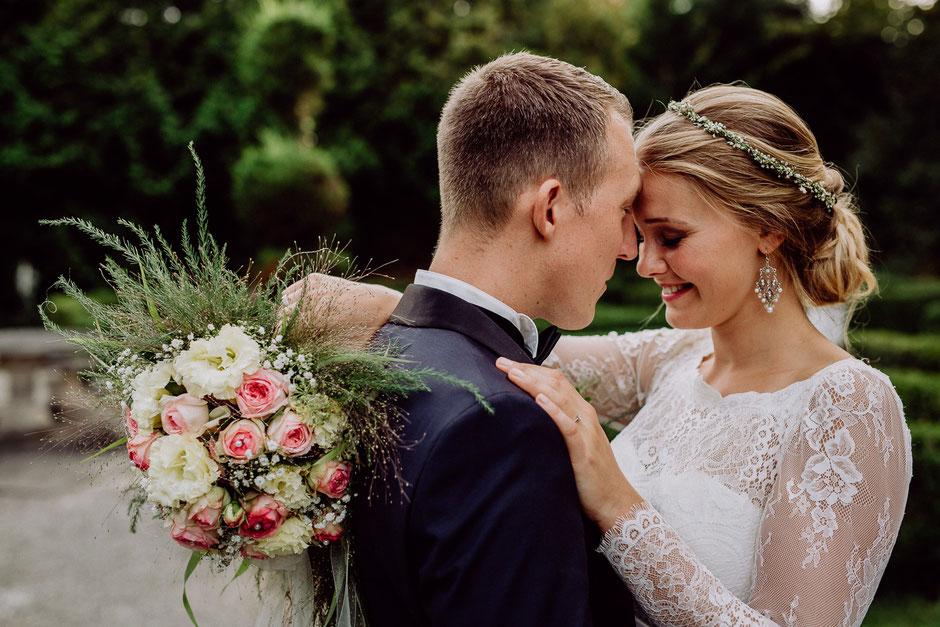 Fotoshooting mit Brautpaar
