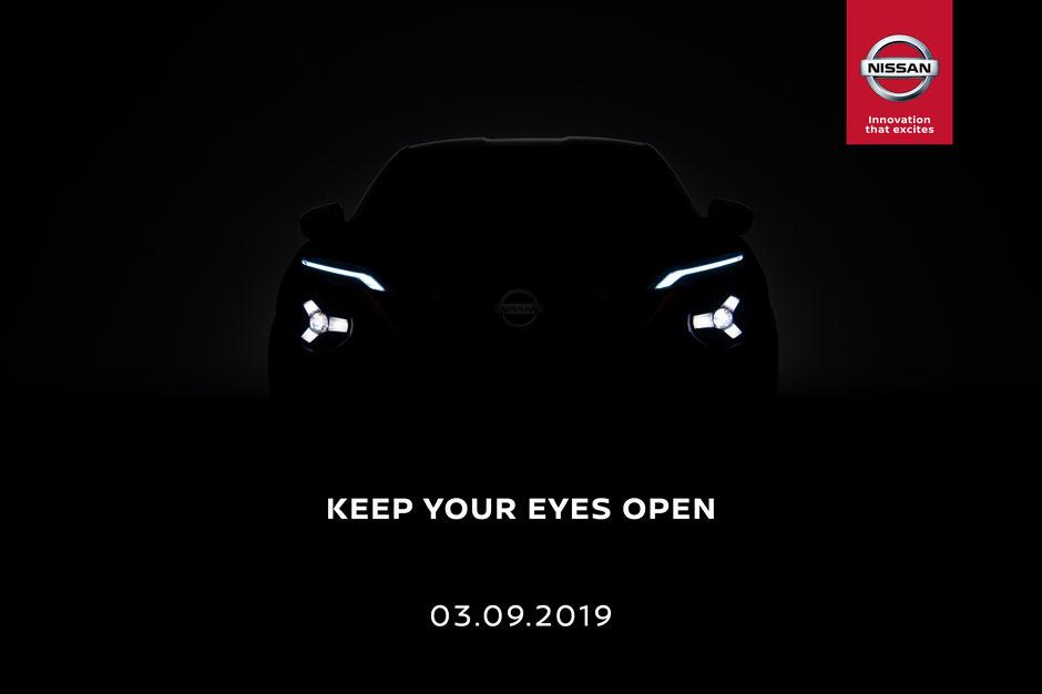 Teaser 2 nouveau Nissan JUKE 2019