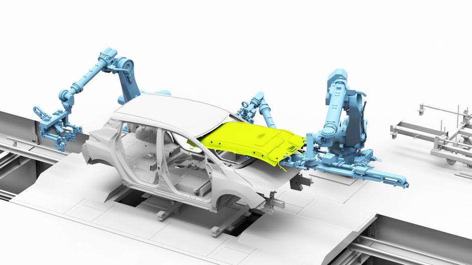 nouvelle méthode de production pour Nissan en 2020